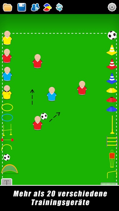 Screenshot for Taktikboard für Fußball++ in Germany App Store