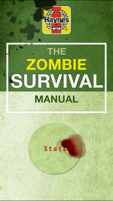 Haynes Zombie Survival Manual screenshot one