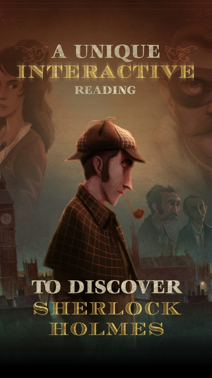 The Interactive Adventures of Sherlock Holmes screenshot-0
