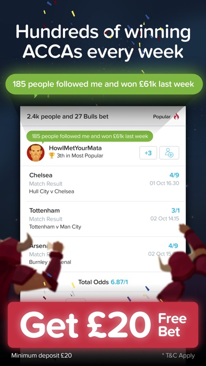 BetBull – Sports Betting with Top Betting Tips