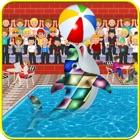 Show de festa golfinho piscina limpeza & simulador icon