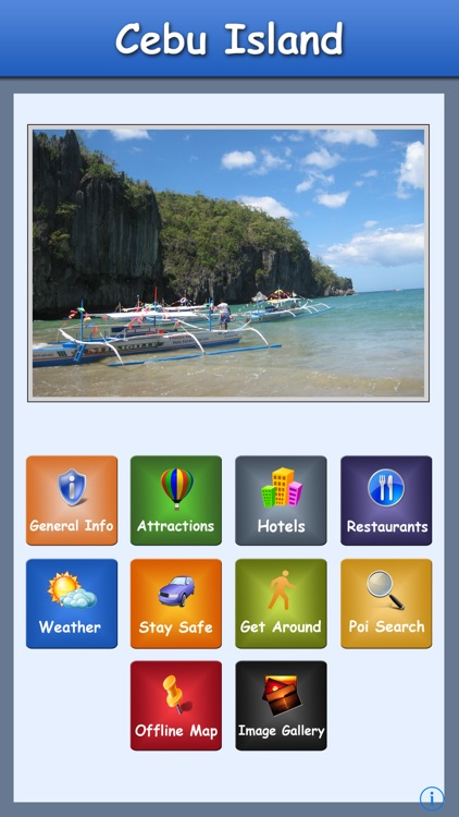 Cebu Island Offline Guide screenshot-0