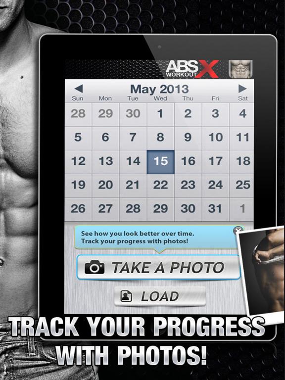 Ab Workout X FREE+ Six-Pack Core Abdomen Exercises-ipad-2