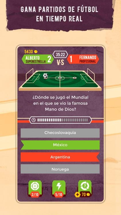 Trivia League - Quiz de fútbol screenshot-0
