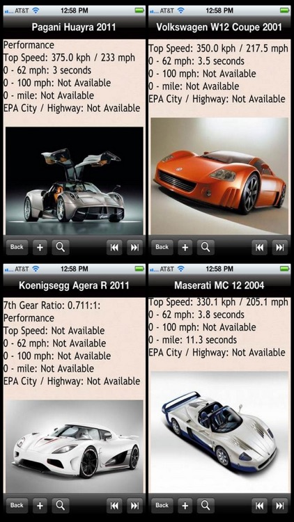 Supercar Encyclopedia screenshot-0