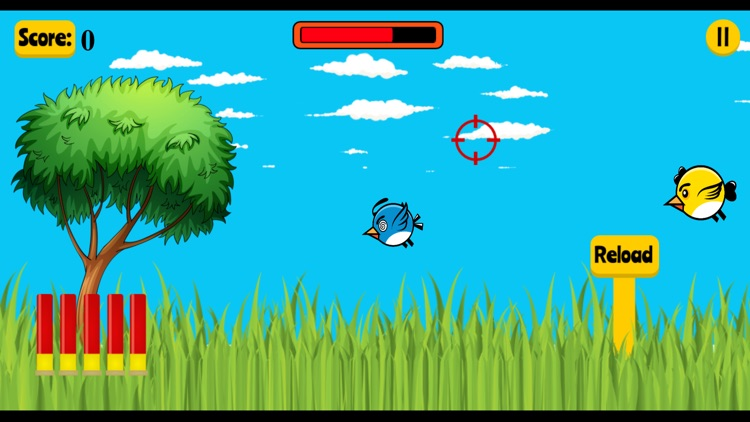 Flappy shooter game