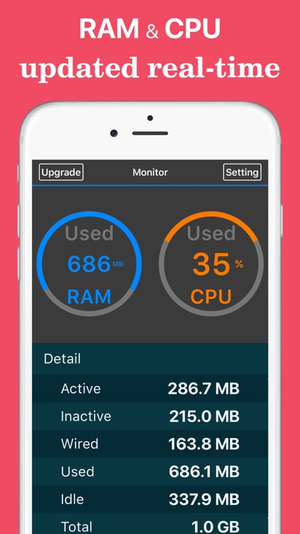 Refresh Pro: RAM, CPU Usage Real-time & System Information