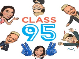 Say it best with stickers of your favourite deejays from Class 95