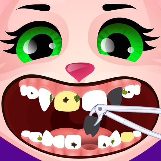 Animal Dentist - Little Baby Pet Doctor Kids Games