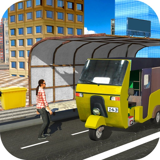 City Auto Rickshaw Drive icon