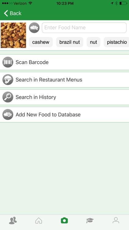 Zucchini - Smart Food Nutrition & Calorie Counter screenshot-3