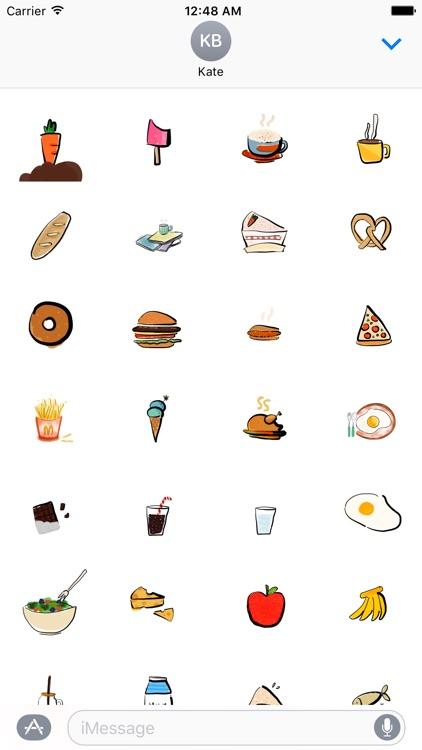 haero Food Stickers