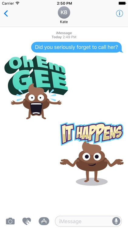 Happy Poo: Stickers by EmojiOne screenshot-2