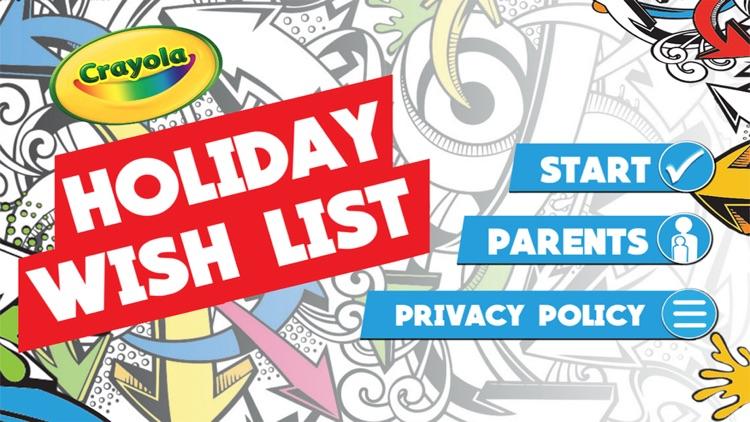 Crayola Kids' Holiday Wish List screenshot-4
