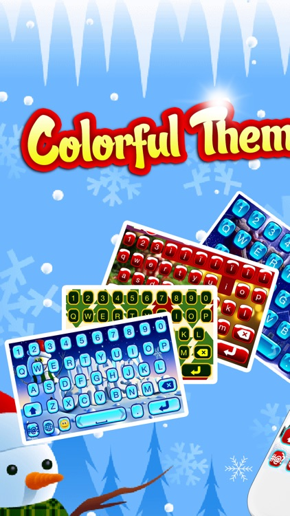 Christmas Emoji Keyboard Themes & Custom Keyboards