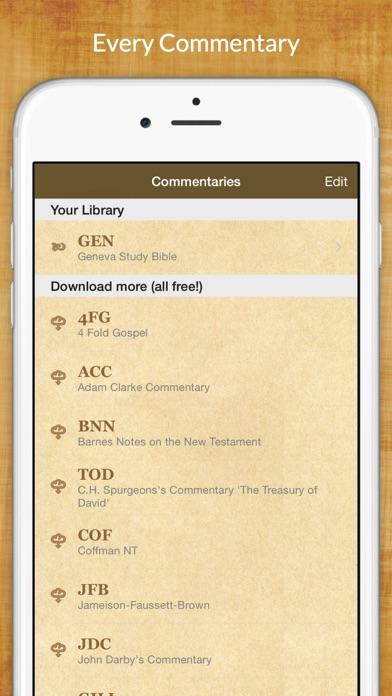 Bible Commentaries review screenshots