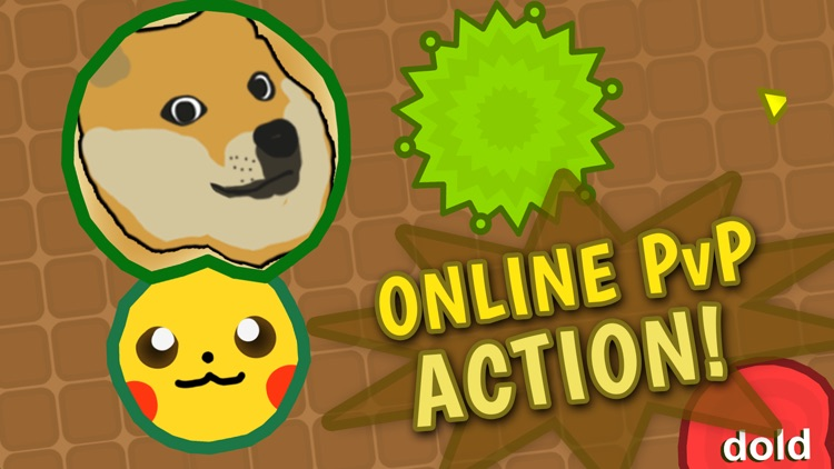 Blobz .IO: Online MMO Games
