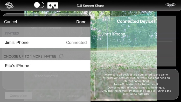 DJI Screen Share - Mavic, Phantom 3/4 Inspire 1/2 screenshot-3