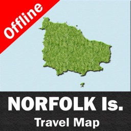 NORFOLK ISLAND – GPS Travel Map Offline Navigator