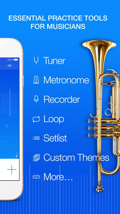 Practice+ Tuner, Metronome, Recorder and More... screenshot-0
