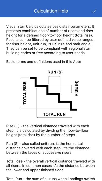 Visual Stair Calc screenshot-4