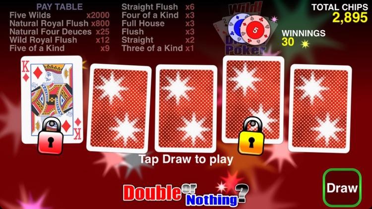 Wild Dream Poker - Deuces Wild Video Poker screenshot-4