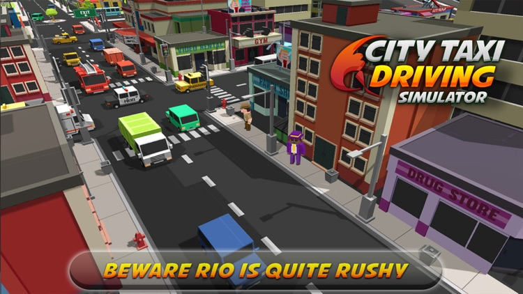 Intra City Taxi Driving Simulator
