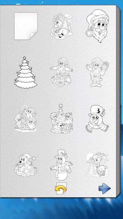 Рождественская книга-раскраска для iPhone и iPad скачать ...