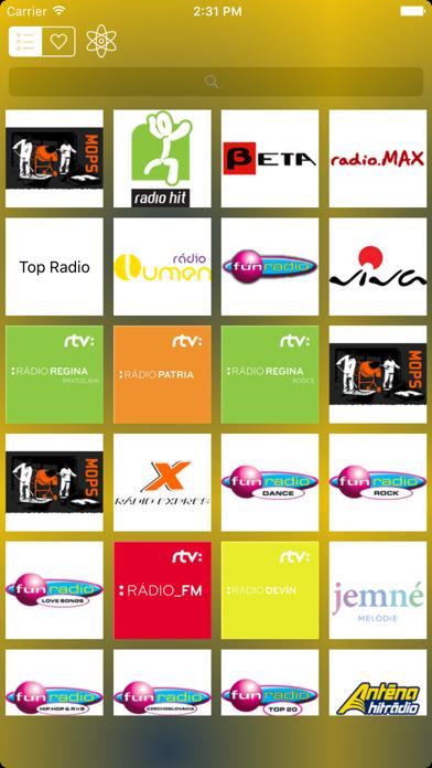 Rádio Slovensko - Slovakia Radio Live Player screenshot two