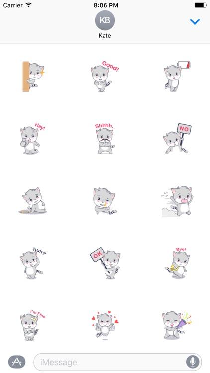 Baby Kitten Sticker
