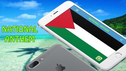 Palestine National Anthem screenshot one