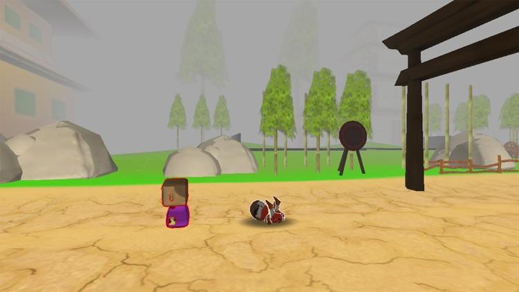 Ninja Zombie Monster Killer -Ninja vs zombie 3D screenshot-3