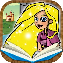 Rapunzel Classic tales - interactive book for kids
