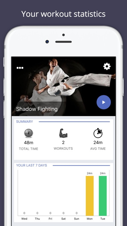 Shadow Fighting Workout Challenge PRO - Get strong