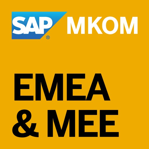 SAP EMEA & MEE MKOM Event App icon