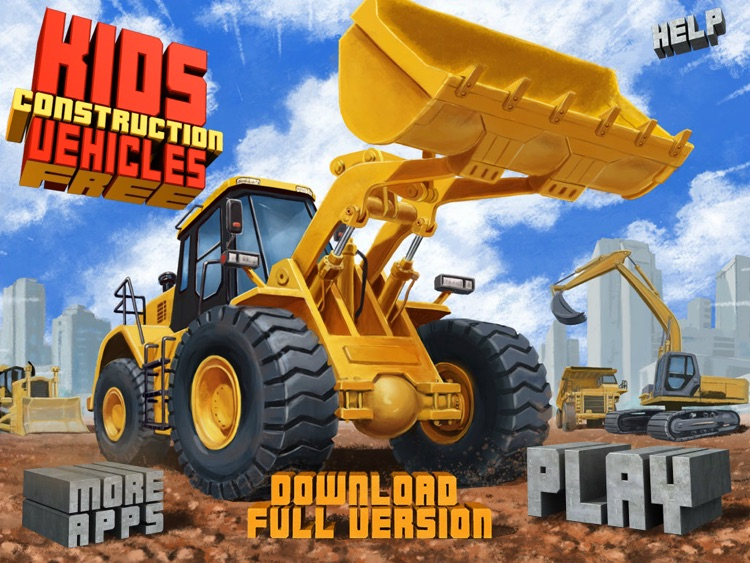 Kids Vehicles: Construction HD Lite for the iPad screenshot-4