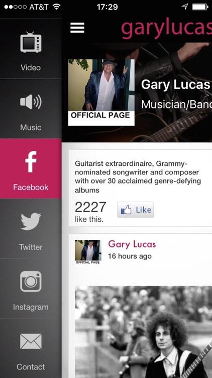 Gary Lucas Tour screenshot-4