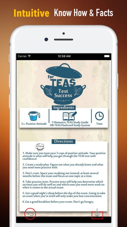 TEAS Test Glossary-Flashcard and Basic Study Guide screenshot-0