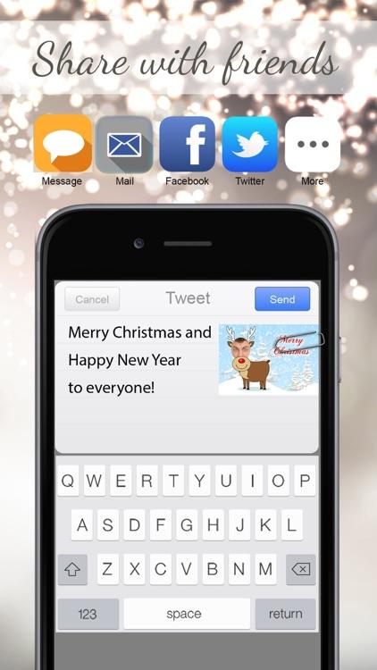 Merry Christmas eCards LITE screenshot-3