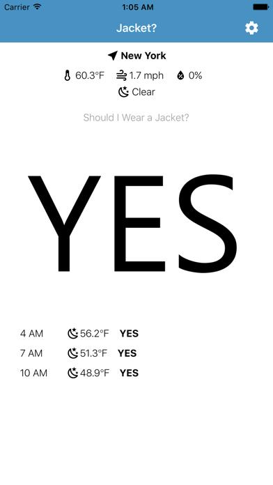 Jacket: Should I Wear a Jacket?のおすすめ画像1