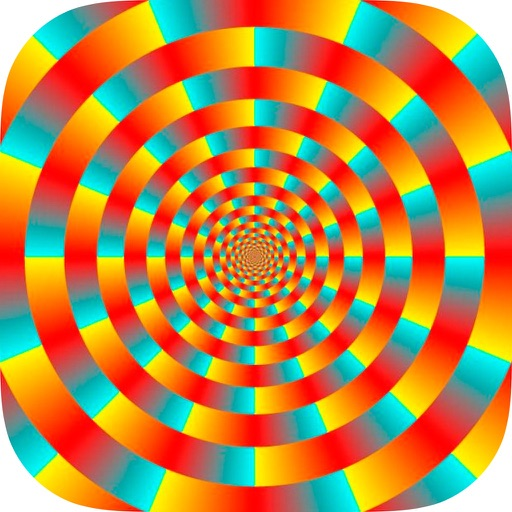 Optical illusions pictures - Visual effects iOS App