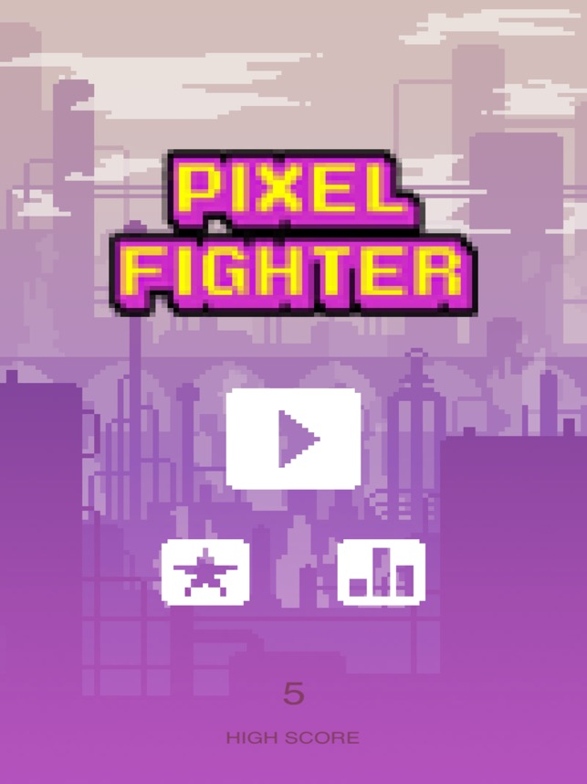 PiXel fighter - The space defender Screenshot
