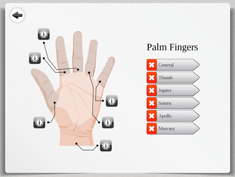 Palm Reading Premium HD - palmistry & chirology screenshot-2