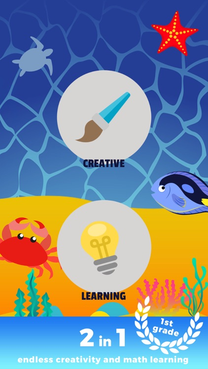 Kids Sea Life Creator - early math calculations using voice ...