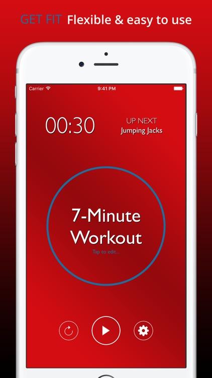 Intensity: Interval Timer HIIT Tabata Workout screenshot-0