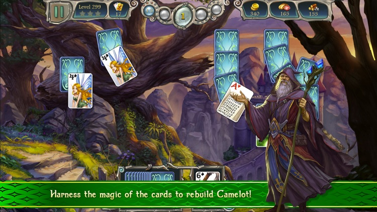 Avalon Legends Solitaire 2 screenshot-0