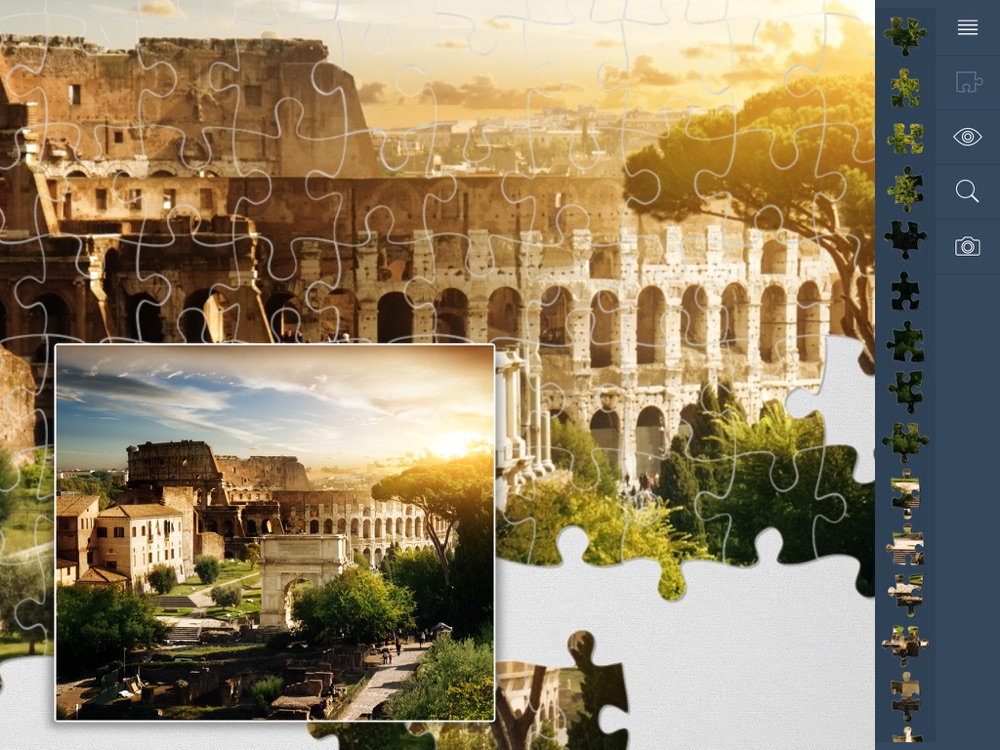 1000 Jigsaw Puzzles Cities