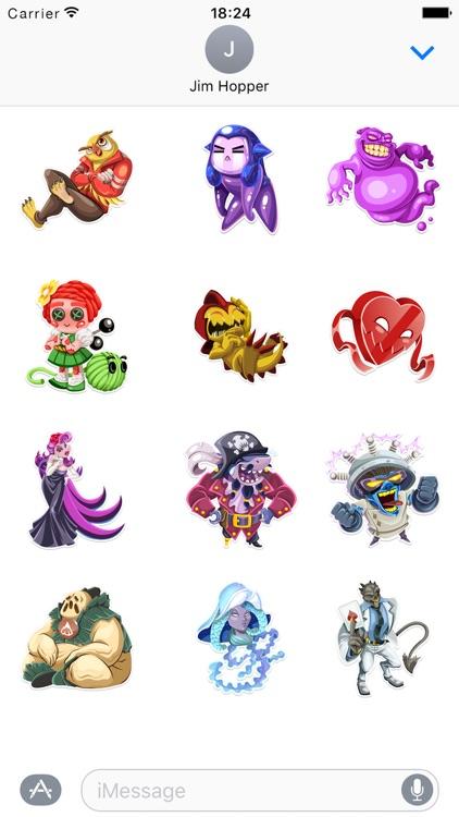 Monster Legends Stickers