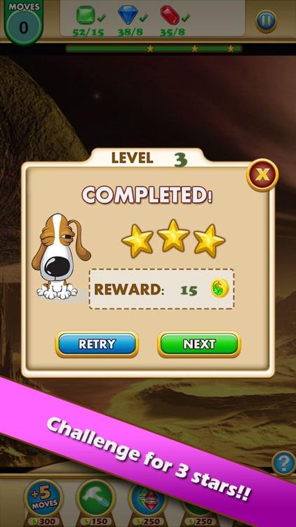 Jewel Heroes King - dash up charm geometry gems screenshot-3