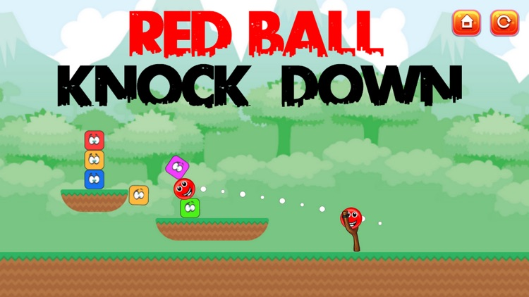 Red Ball Knock Down